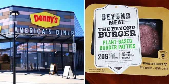 Denny's gets vegan Beyond Meat burger on its menu