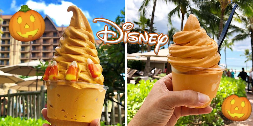 Disneyland launches vegan pumpkin spice soft serve