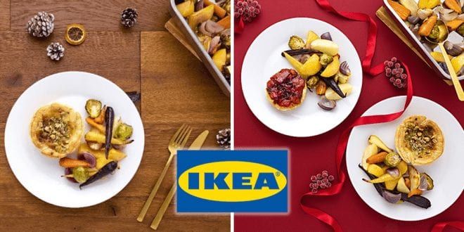 IKEA ditches meat from Christmas menu and replaces it with vegan food