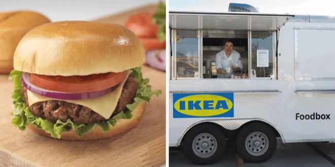 IKEA launches vegan cheeseburger