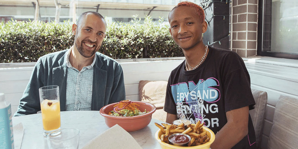 Jaden Smith to give 10,000 vegan meals to the homeless