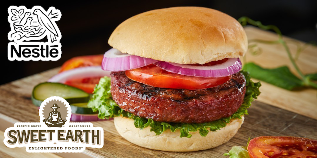 Nestlé launches vegan 'Awesome Burger' in Costco stores