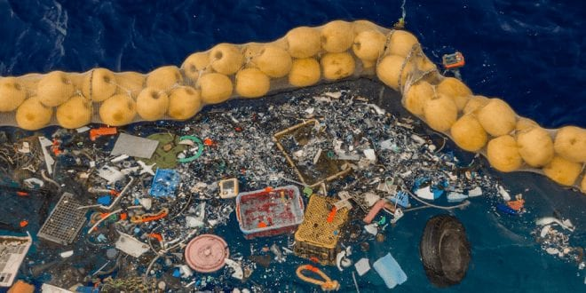 New cleaning device successfully removes fishing nets and microplastics from the ocean