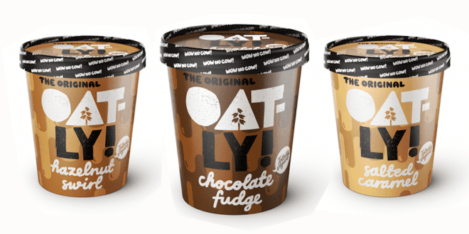 Oatly to launch three vegan ice cream flavours featured