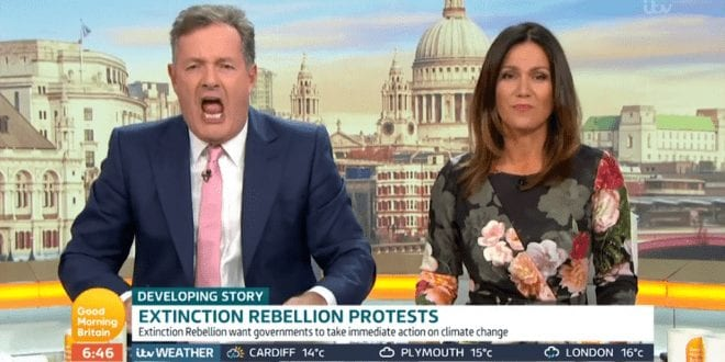 Piers Morgan blasted for bizarre Greta Thunberg impersonation on live TV
