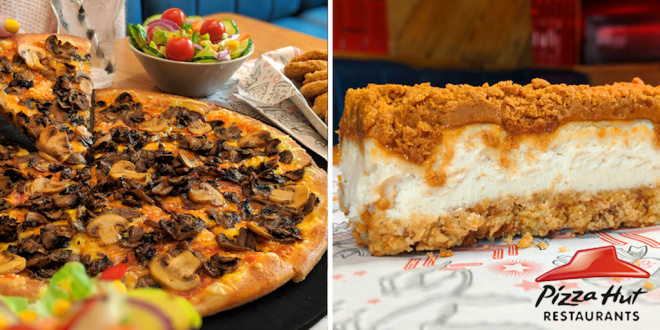 Pizza Hut adds more vegan pizzas, nuggets and cheesecake to its menu