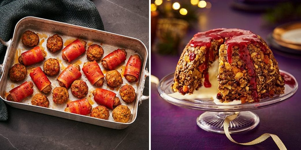 Sainsbury's launches vegan Christmas range including plant-based pigs in blankets