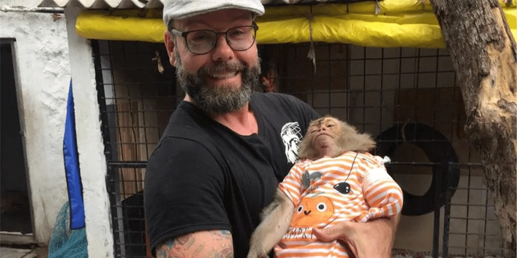 Vet hopes animal rescue work in India will inspire others to treat creatures kindly