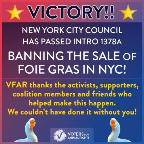New York bans foie gras, ending sales at 1,000 restaurants