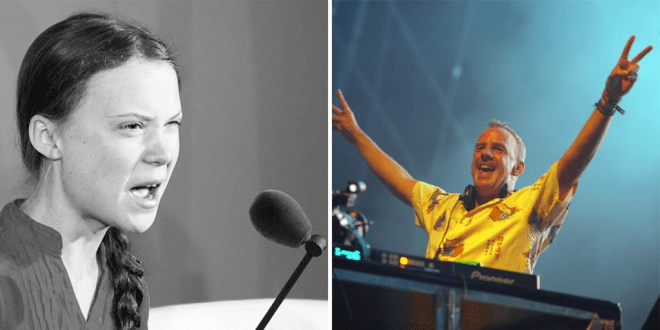WATCH Someone has remixed Greta Thunberg's speech with Fatboy Slim's 'Right Here, Right Now'