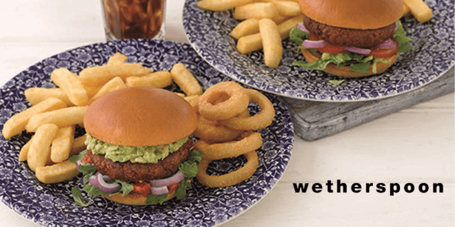 Wetherspoon's launches first ever plant-based meat burger at 880 pubs