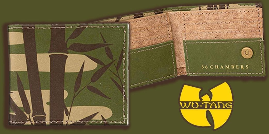 Wu Tang Clan launch vegan banana leaf wallets