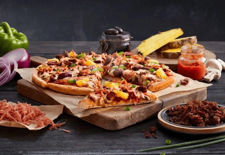 Domino's launches plant-based Hawaiian and pepperoni pizzas