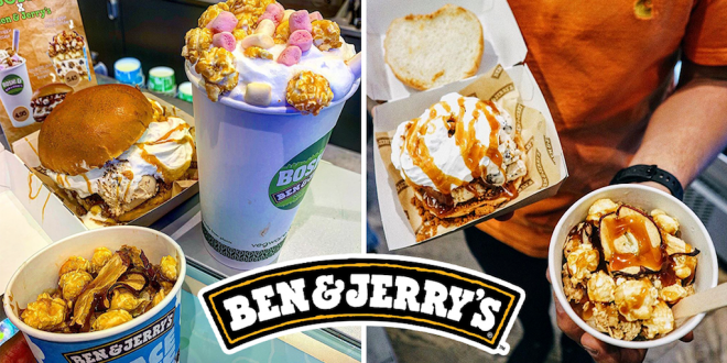 Ben & Jerry's launches vegan ice cream burgers in the UK