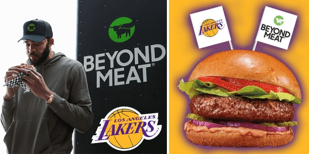 Los-Angeles-Lakers-announces-partnership-With-Beyond-Meat