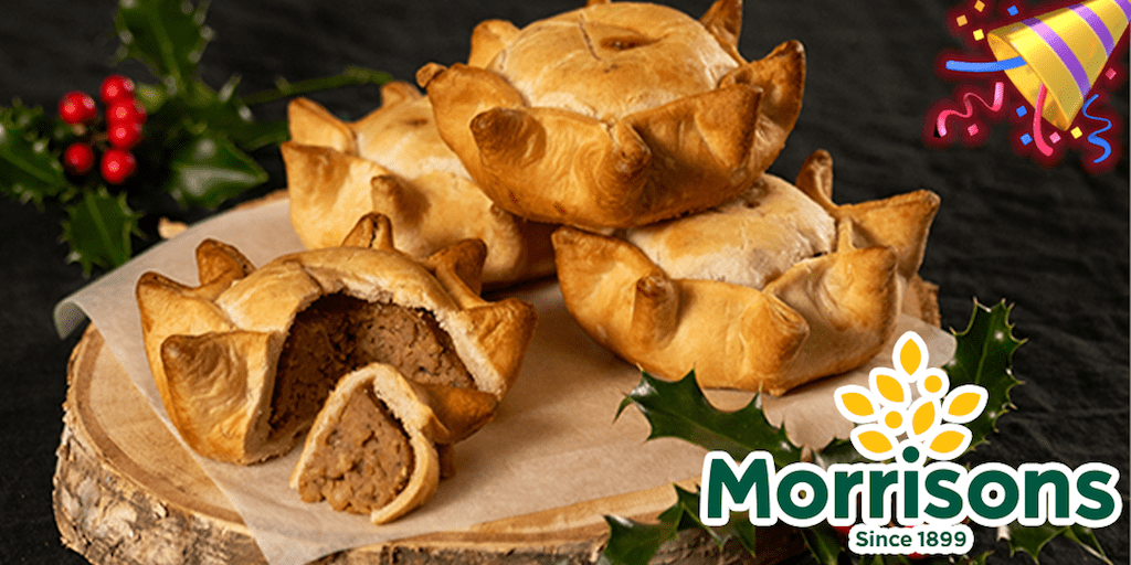 Morrisons to debut vegan pork pie just in time for Christmas