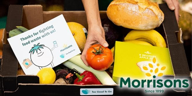 Morrisons to sell £10 food boxes for just £3.09 to reduce food waste