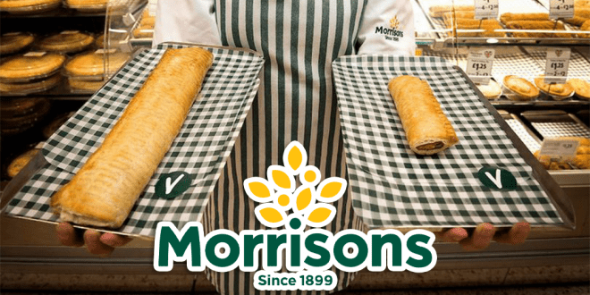 Morrisons to sell foot-long vegan sausage roll for £1