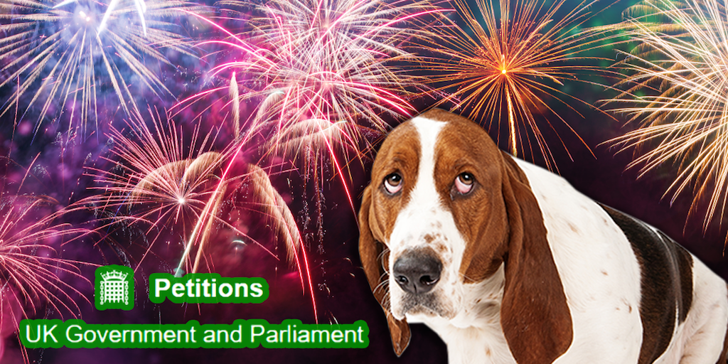 Over 150,000 people sign a petition urging the UK government to ban fireworks in shops