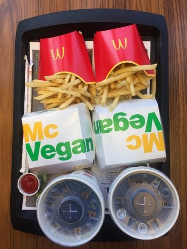 PETAUK launches campaign for a McVegan Burger from McDonald's