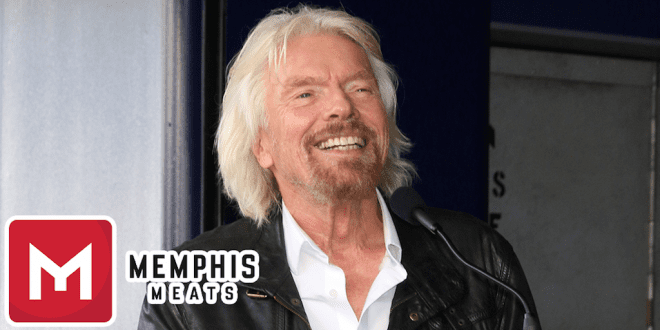 Richard Branson states that clean and plant-based meat will stop humans from killing animals for meat in just a few decades