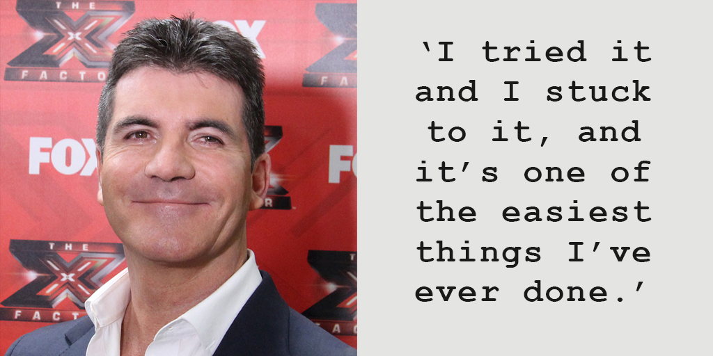 Simon Cowell says vegan diet makes him a better father to son Eric as he can 'keep up with him'