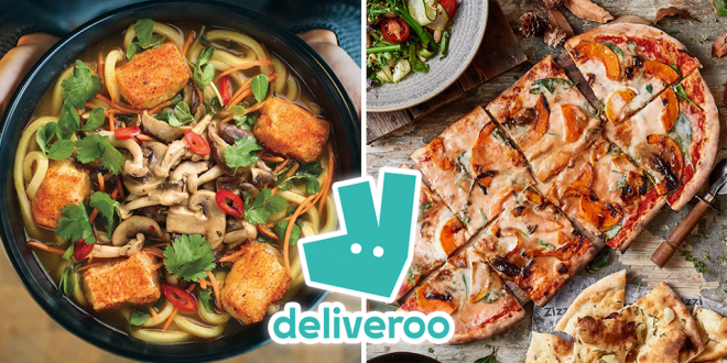 Vegan food orders have shot up by 330% on Deliveroo in two years