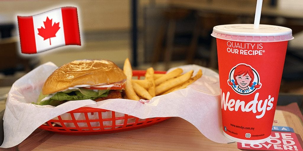 Wendy's silently adds a meaty vegan burger to its Canadian menu