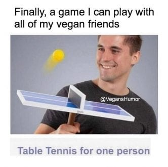 A game I can play with vegan friends