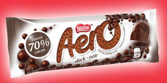 Aero launches vegan dark chocolate bar _TotallyVeganBuzz