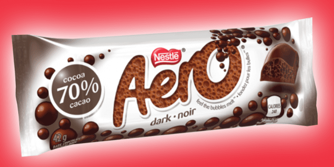 Aero launches vegan dark chocolate bar _TotallyVeganBuzz