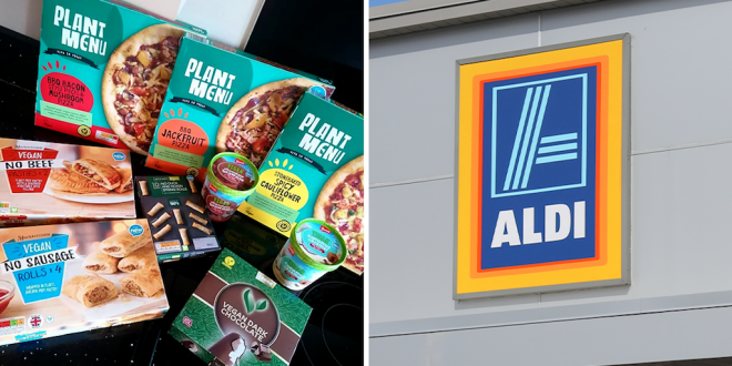 Aldi launches extensive vegan range for Veganuary