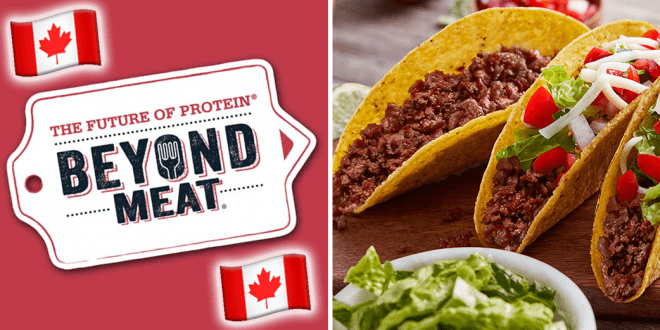 Beyond Meat debuts its plant-based beef in Canada
