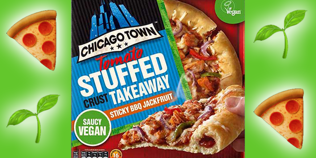 Chicago Town to launch its first vegan tomato-stuffed crust pizza in the UK