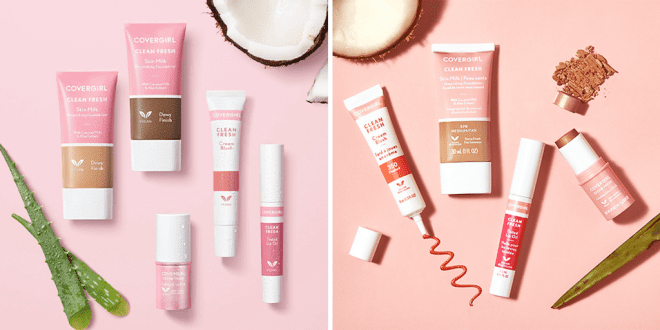 CoverGirl debuts its first 100% vegan beauty line