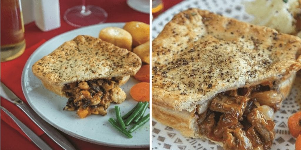 Delice de France launches vegan pies