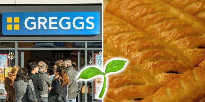Greggs to unveil new vegan menu in January 2020