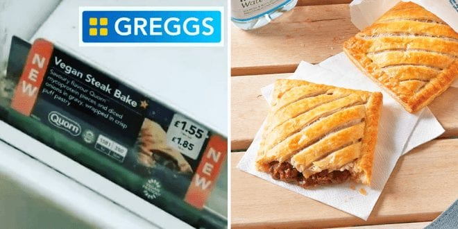 Greggs vegan steak bake launch confirmed after sign spotted in store