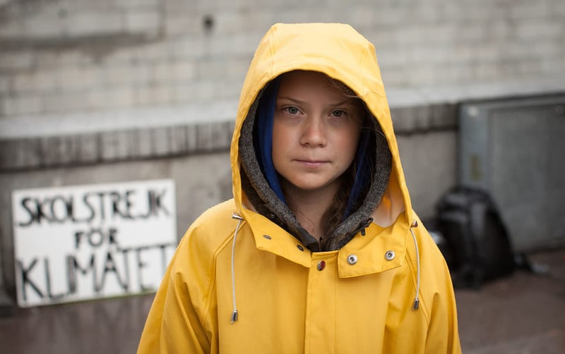 Greta Thunberg named times person of the year