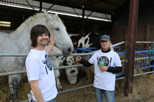 Help achieve the first ever vegan Christmas Number 1 by supporting 'Peace On Your Plate'