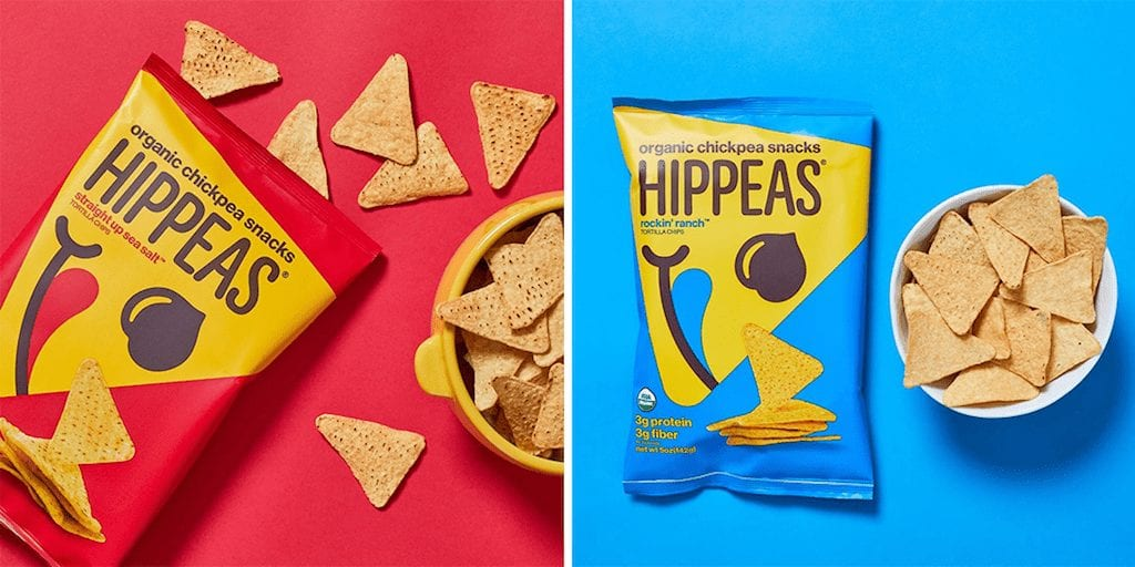 Hippeas new vegan chickpea tortilla chips launch at Whole Foods