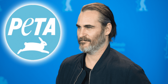 Joaquin Phoenix named PETA's Person of the Year for his animal advocacy