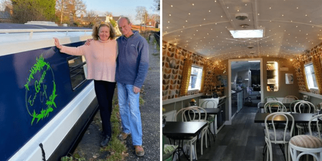 Lymm gets its first floating vegetarian and vegan cafe