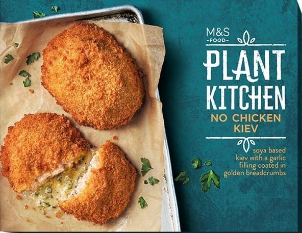 M&S to launch new vegan range with 100 plant-based meals, snacks and drinks - just in time for Veganuary