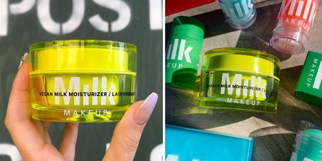 Makeup brand 'milks' oats, figs and argan to make new vegan moisturizer