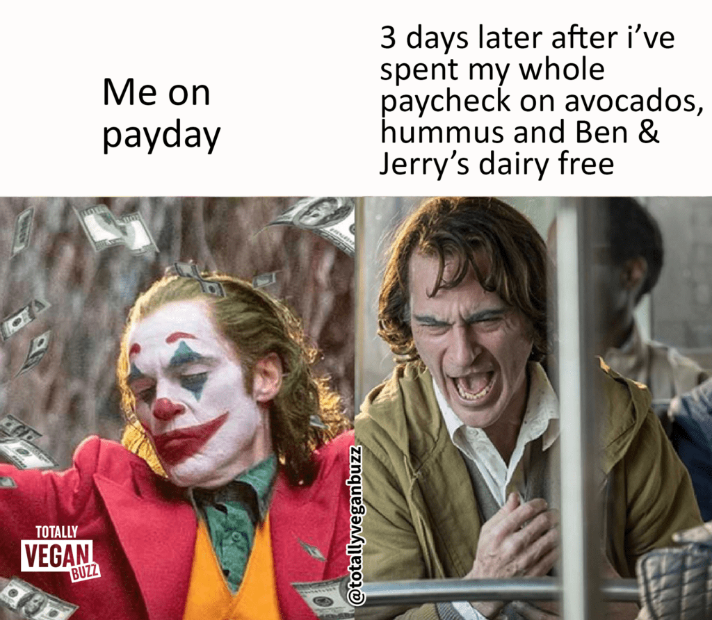 Me on payday vs 3 days later