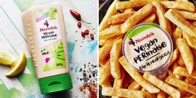 Nando's to launch vegan PERinaise in January