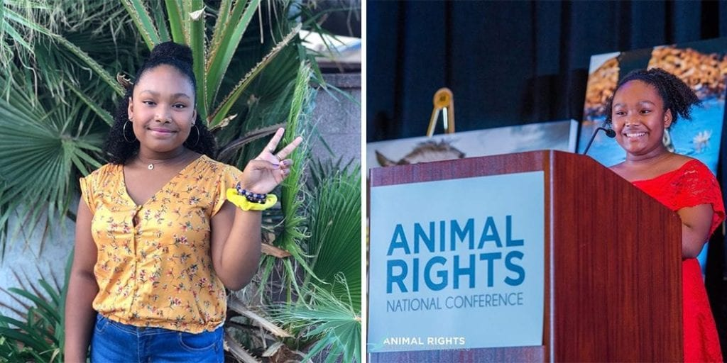 PETA names Genesis Butler the 2019 young animal activist of the year