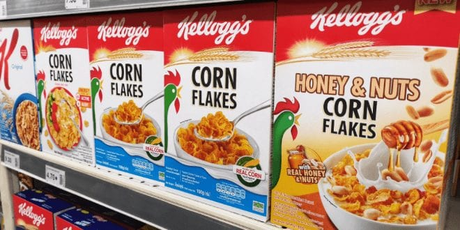 Petition calls on Kellogg's to swap animal-derived vitamins from cereal range
