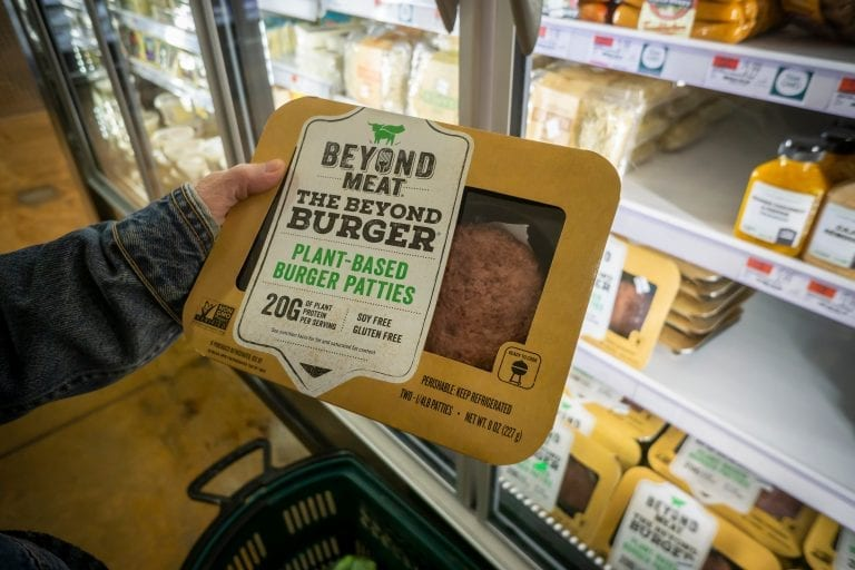 Plant-based meat burgers have saved quarter-million animals annually